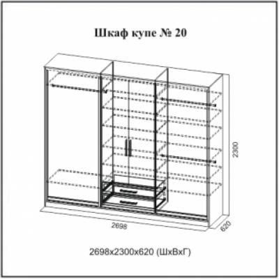 Шкаф-купе № 20