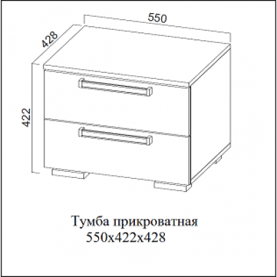 """Спальный гарнитур """"Лагуна-2"""""""